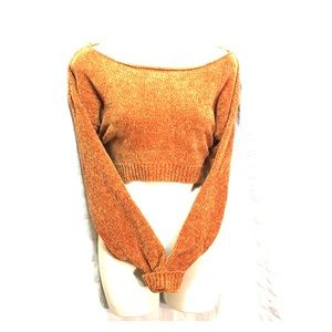 F21 Extreme cropped sweater L